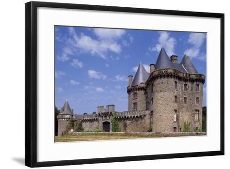 View of Chateau De Landal, Broualan, Brittany, France 15th-19th Century--Framed Art Print
