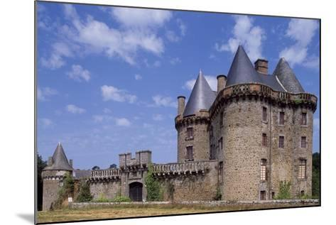 View of Chateau De Landal, Broualan, Brittany, France 15th-19th Century--Mounted Giclee Print