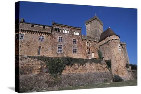 View of Chateau De Castelnau-Bretenoux, Prudhomat, Midi-Pyrenees, France, 11th-17th Century--Stretched Canvas Print