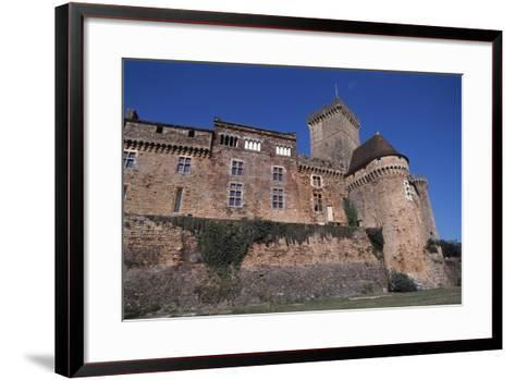 View of Chateau De Castelnau-Bretenoux, Prudhomat, Midi-Pyrenees, France, 11th-17th Century--Framed Art Print