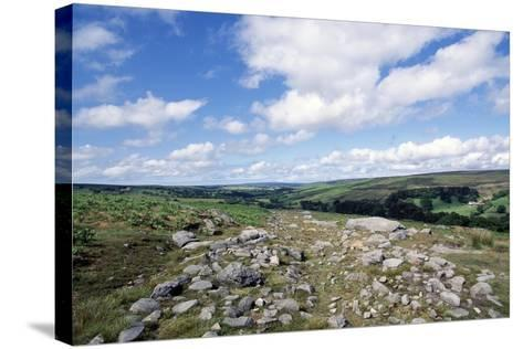 Wheeldale Roman Road, North York Moors National Park, North Yorkshire, England, United Kingdom--Stretched Canvas Print