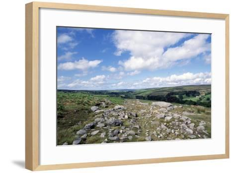 Wheeldale Roman Road, North York Moors National Park, North Yorkshire, England, United Kingdom--Framed Art Print