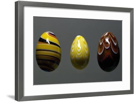 Glass Eggs--Framed Art Print