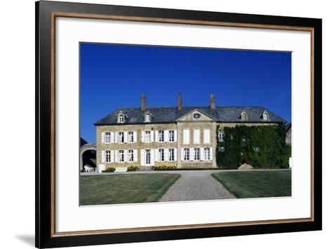 Facade, Le Hameau De Quehen,Isques, Nord-Pas-De-Calais, France--Framed Art Print