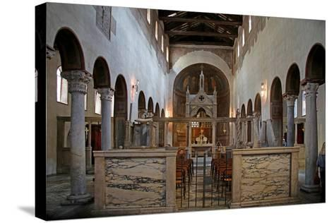 Nave and View to the East--Stretched Canvas Print