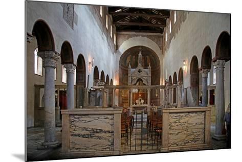 Nave and View to the East--Mounted Giclee Print