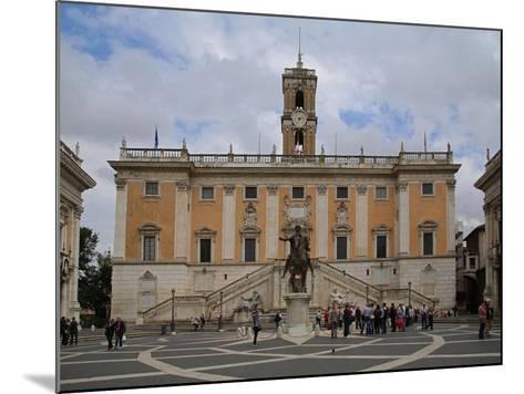 The Piazza Del Campidoglio--Mounted Giclee Print