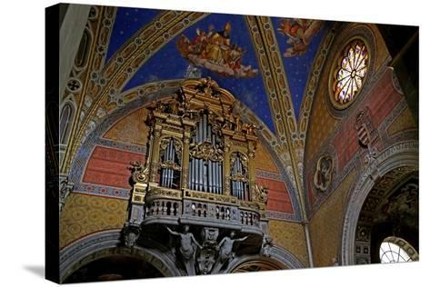 The South Transept of the Church--Stretched Canvas Print