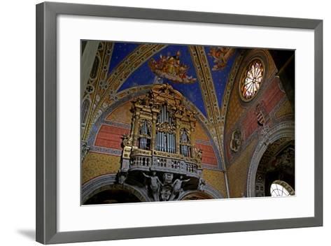 The South Transept of the Church--Framed Art Print