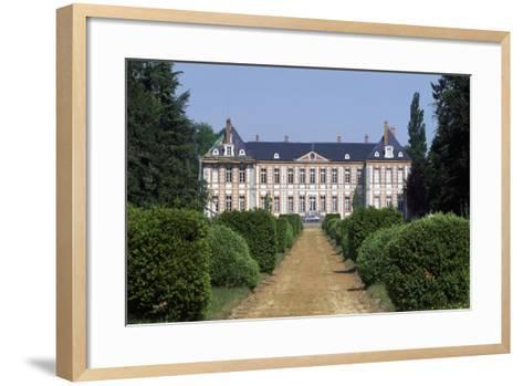 Bombon Castle, Near Melun, Ile-De-France, France--Framed Art Print