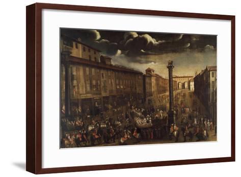 Carnival in Corso Venezia in Milan--Framed Art Print