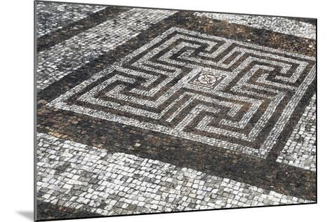 Mosaic Floors, Rockbourne Roman Villa, Hampshire, England, United Kingdom--Mounted Giclee Print
