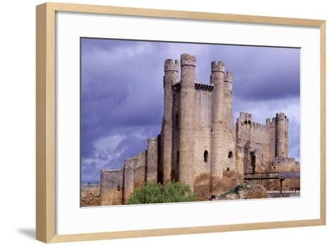 Spain, Castile and Leon, Valencia De Don Juan, Coyanza Castle--Framed Art Print