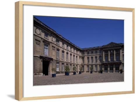 Honour Courtyard of Chateau De Compiegne, Picardy, France--Framed Art Print