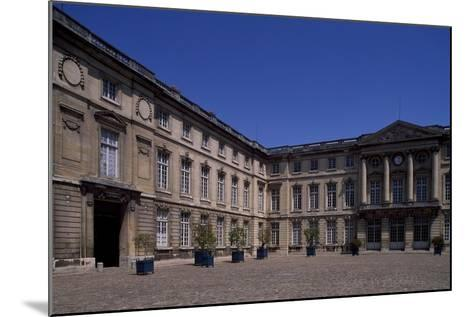 Honour Courtyard of Chateau De Compiegne, Picardy, France--Mounted Giclee Print