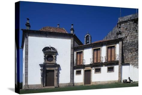 Church of Our Lady of the Incarnation, Castle of Santa Maria Da Feira, Portugal--Stretched Canvas Print