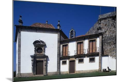 Church of Our Lady of the Incarnation, Castle of Santa Maria Da Feira, Portugal--Mounted Giclee Print