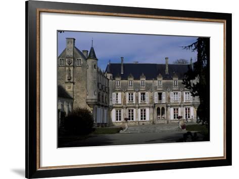 View of Castle of Terre-Neuve, 1580, Fontenay-Le-Comte, Loire, France, 16th Century--Framed Art Print