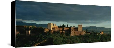 Spain. Granada. the Alhambra. the Alcazaba.--Stretched Canvas Print
