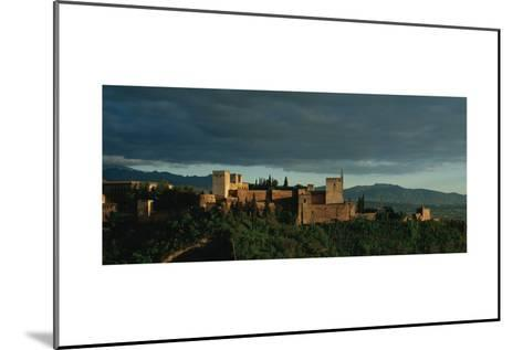 Spain. Granada. the Alhambra. the Alcazaba.--Mounted Giclee Print