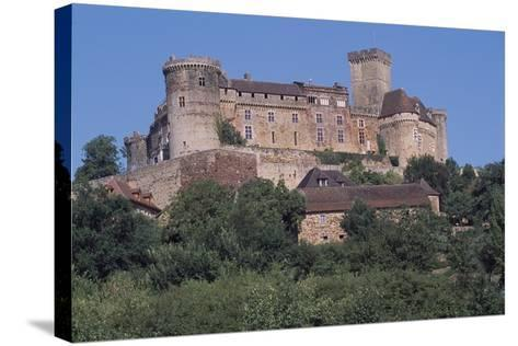 Chateau De Castelnau-Bretenoux, Prudhomat, Midi-Pyrenees, France, 11th-17th Century--Stretched Canvas Print