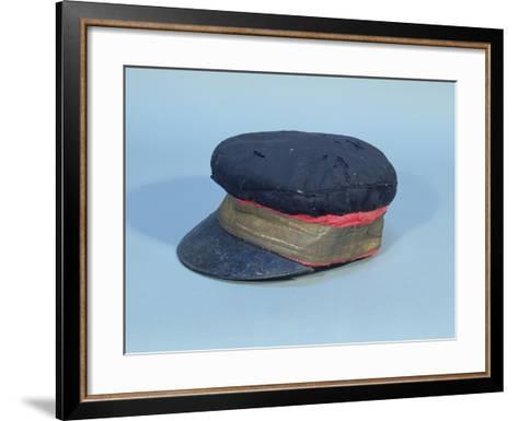 Cap with a Gold Band Worn by David Livingstone--Framed Art Print