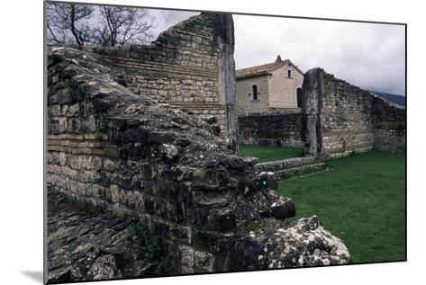 Ruins of Roman Houses, Ancient Roman City of Saepinum, Sepino, Molise, Italy--Mounted Giclee Print