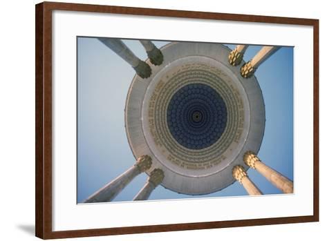 Monument to the Poet Navoi, Tashkent, Uzbekistan--Framed Art Print