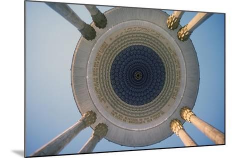 Monument to the Poet Navoi, Tashkent, Uzbekistan--Mounted Giclee Print