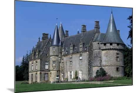 Bonnefontaine Castle, Antrain, Brittany, France--Mounted Giclee Print