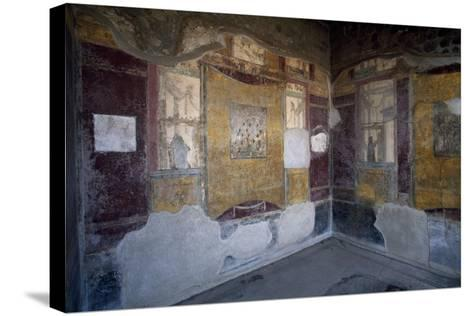 Frescoed Hall, Villa Arianna, Stabiae, Campania, Italy BC, Detail--Stretched Canvas Print