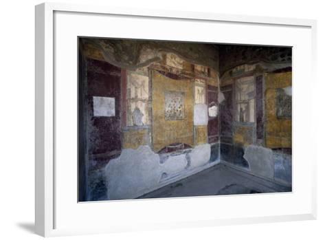 Frescoed Hall, Villa Arianna, Stabiae, Campania, Italy BC, Detail--Framed Art Print