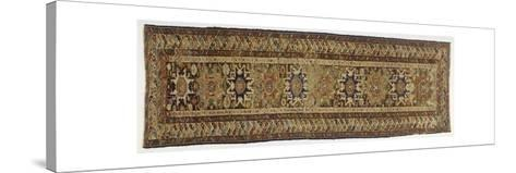 Rugs and Carpets: Russia - Dagestan - Woollen Kilim Carpet--Stretched Canvas Print