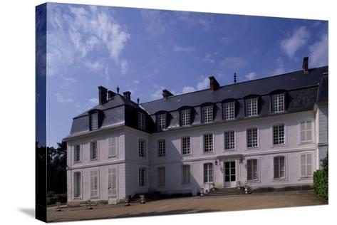 View of Chateau De Mauvieres, Saint-Forget, Ile-De-France, France, 17th-18th Century--Stretched Canvas Print