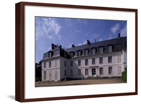 View of Chateau De Mauvieres, Saint-Forget, Ile-De-France, France, 17th-18th Century--Framed Art Print