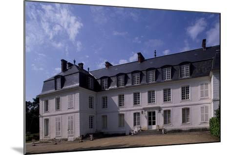 View of Chateau De Mauvieres, Saint-Forget, Ile-De-France, France, 17th-18th Century--Mounted Giclee Print