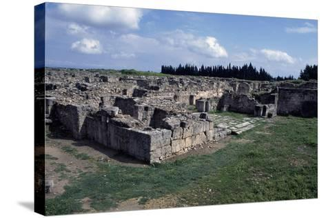 Gateway to Ancient City of Ugarit, Now Ras Shamra, North of Latakia, Syria--Stretched Canvas Print