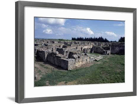 Gateway to Ancient City of Ugarit, Now Ras Shamra, North of Latakia, Syria--Framed Art Print