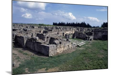 Gateway to Ancient City of Ugarit, Now Ras Shamra, North of Latakia, Syria--Mounted Giclee Print