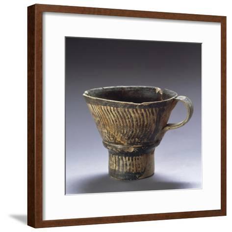 Kephtiu Type Cup, from Elbasan, Albania--Framed Art Print