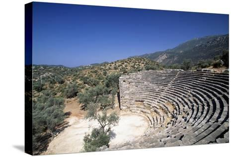 Hellenistic Theatre in Kas, Turkey Hellenistic Civilization, 4th-1st Century BC--Stretched Canvas Print