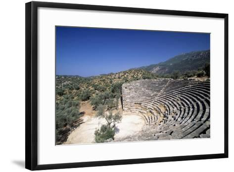 Hellenistic Theatre in Kas, Turkey Hellenistic Civilization, 4th-1st Century BC--Framed Art Print