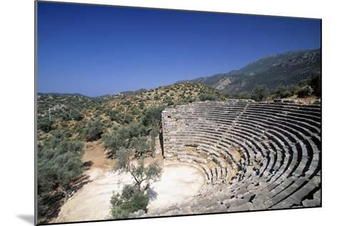 Hellenistic Theatre in Kas, Turkey Hellenistic Civilization, 4th-1st Century BC--Mounted Giclee Print