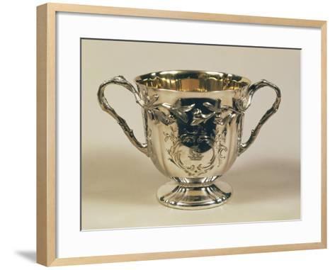 Silver Cup--Framed Art Print