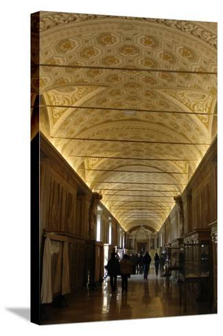 Vatican Museums, Interior--Stretched Canvas Print