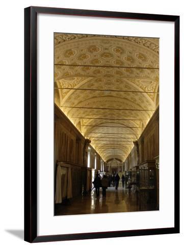 Vatican Museums, Interior--Framed Art Print