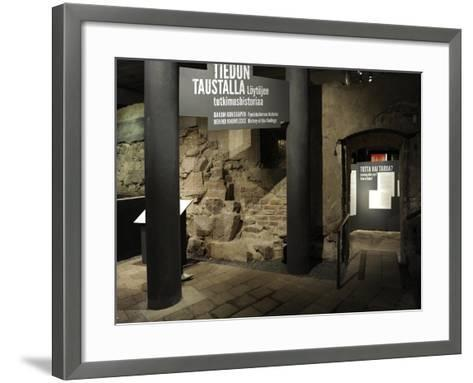 Aboa Vetus and Ars Nova, Aboa Vetus, Remains of Six Medieval Buildings, Finland--Framed Art Print