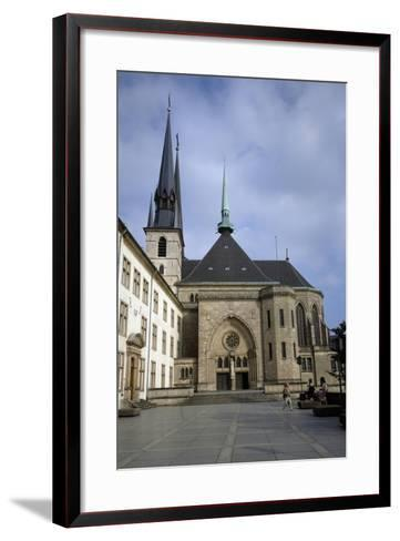 Luxembourg City, Notre-Dame Cathedrale--Framed Art Print