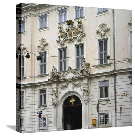 Bohemian Court Chancery--Stretched Canvas Print