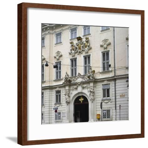 Bohemian Court Chancery--Framed Art Print